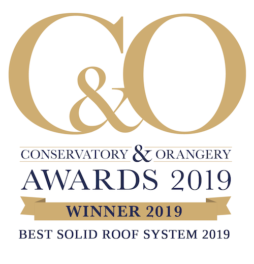 Winner Conservatory & Orangery Awards 2019, Best Solid Roof System