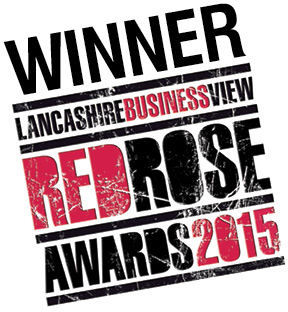 Winner Lancashire Business View Red Rose Awards 2015